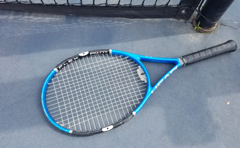 Weekend Tennis Wipe Out