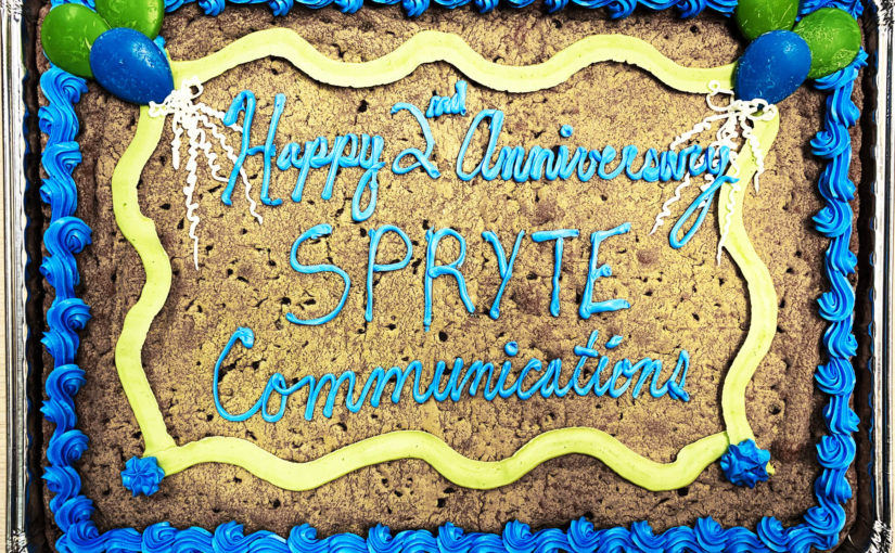 SPRYTE Celebrates 2nd Anniversary