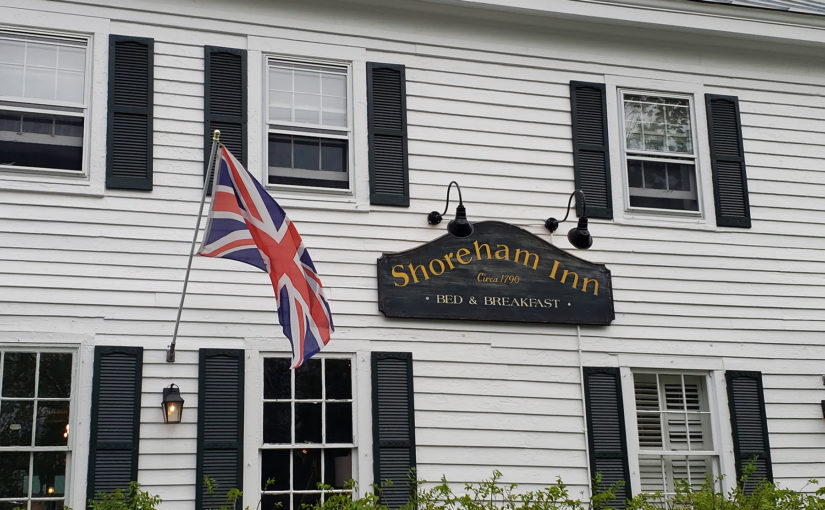 The adorable Shoreham Inn doesn't have televisions.